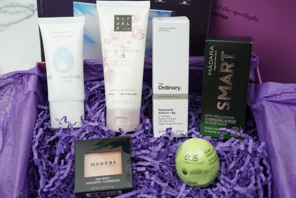 lookfantastic Beauty Box March 2019