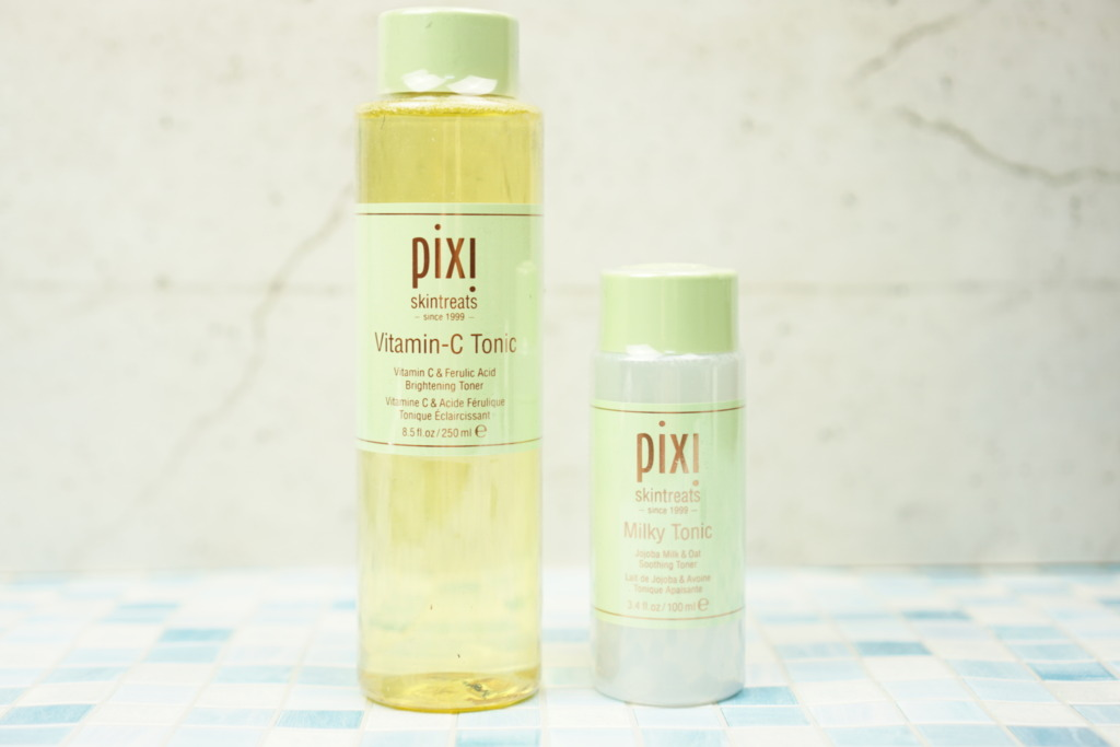 PIXI Vitamin-C Tonic 250ml & PIXI Milky Tonic 100ml