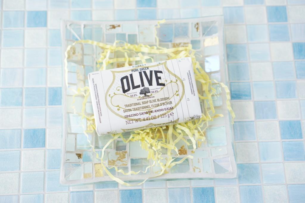 KORRES Natural Pure Greek Olive and Olive Blossom Soap 125g
