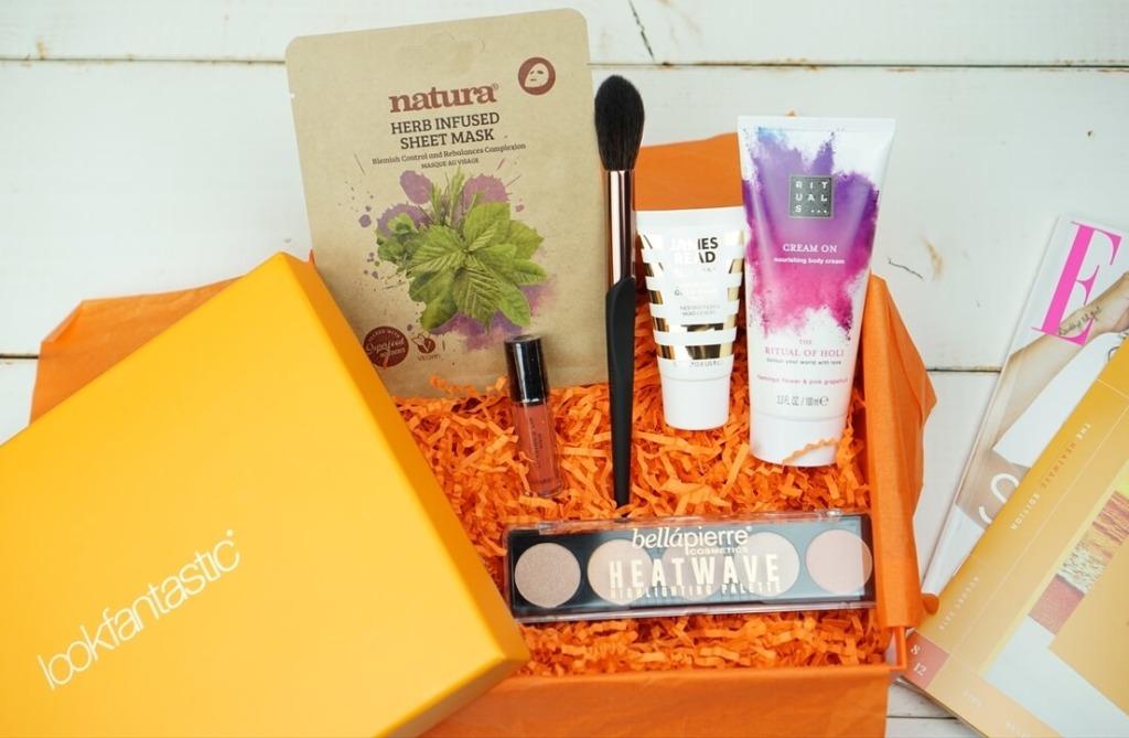 lookfantastic Beauty Box August 2019 開封&レビュー