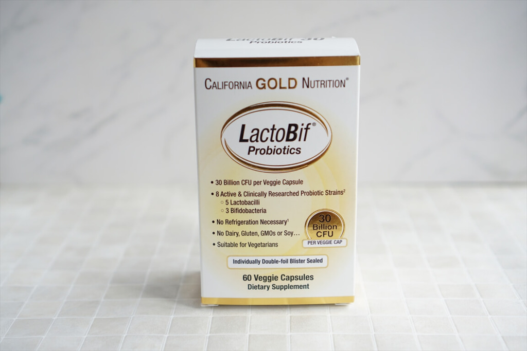 California Gold Nutrition LactoBif プロバイオティクス 300億 CFU