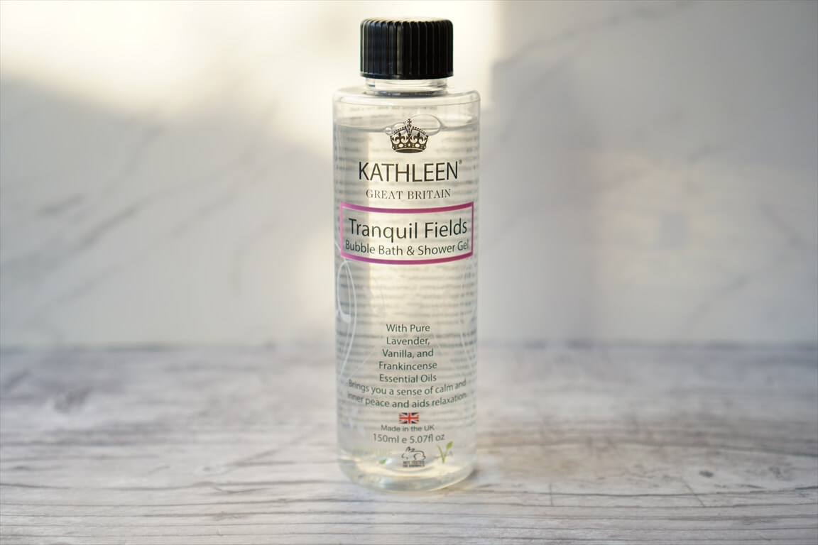 KATHLEEN NATURAL Tranquil Fields Bubble Bath and Shower Gel