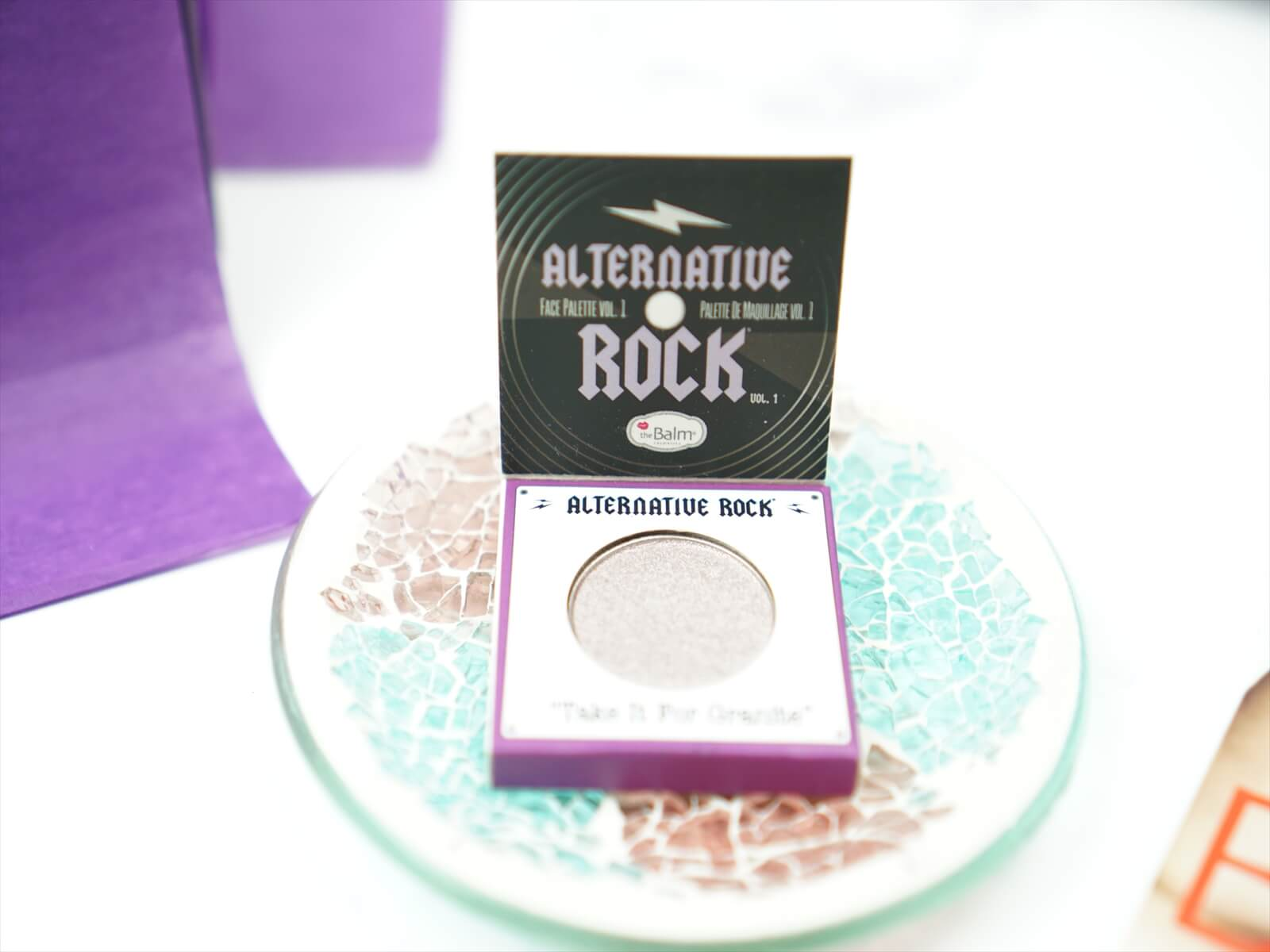 The Balm Eyeshadow in Take It For Granite
