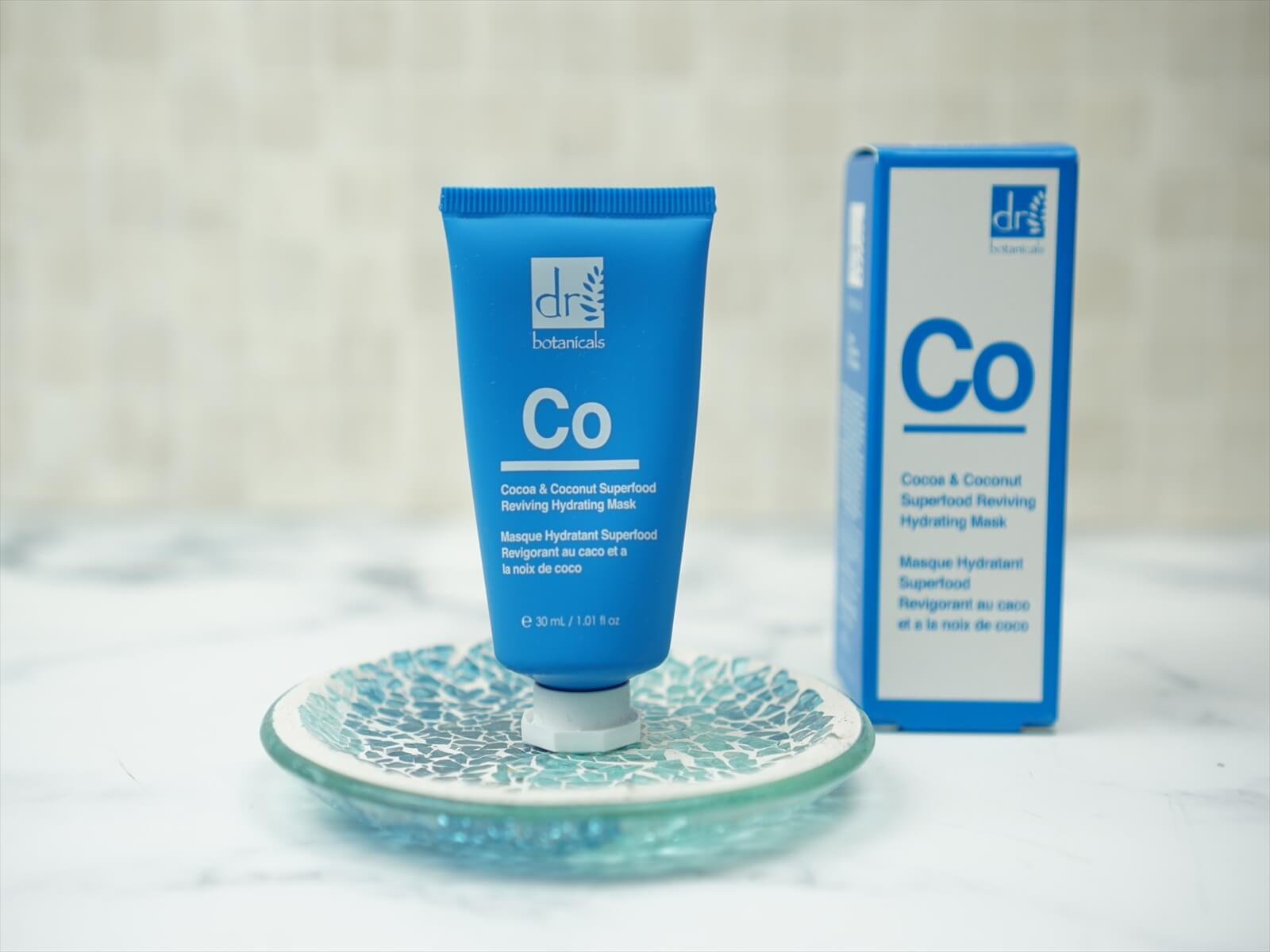 Dr.botanicals Cocoa & Coconut Superfood Reviving Hydrating Mask 30ml