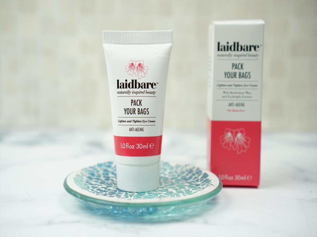 Laidbare Pack Your Bags Lighten & Tighten Eye Cream 30ml