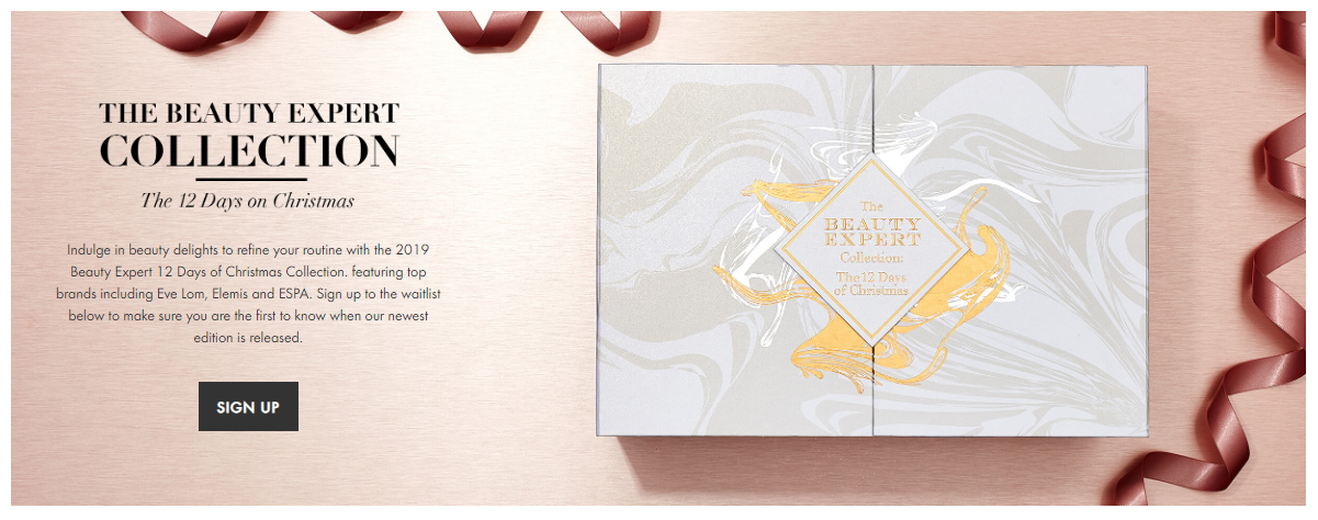 Beauty Expert Advent Calendar 2019