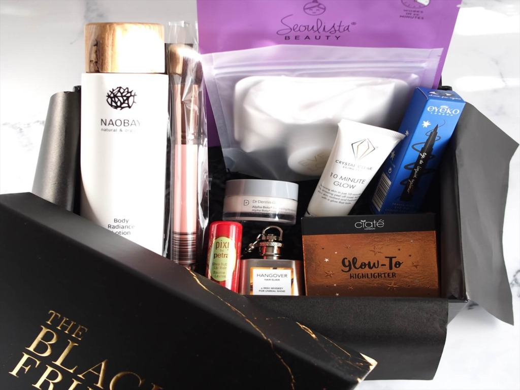 lookfantastic Black Friday Beauty Box 開封&レビュー