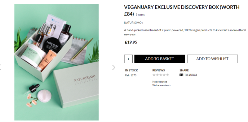 Naturisimo VEGANUARY EXCLUSIVE DISCOVERY BOX