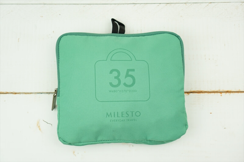 MILESTO UTILITY ポケッタブルボストンバッグ 35