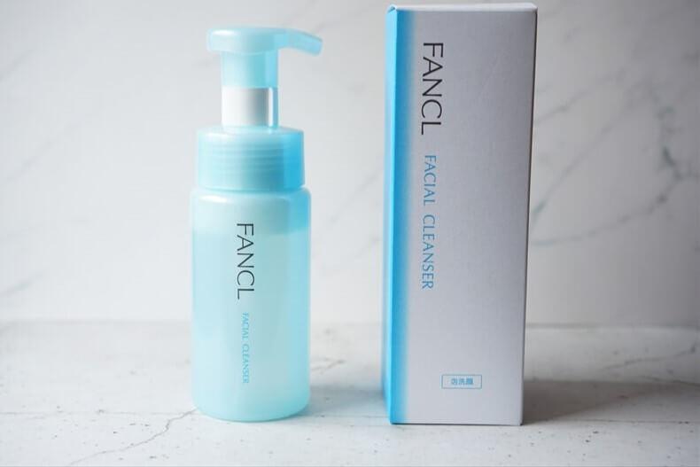 敏感肌の方にもおすすめしたいFANCLの洗顔料