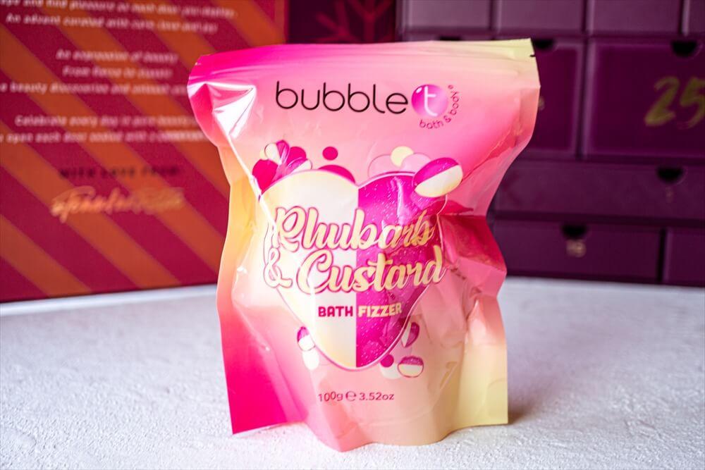 Bubble T Rhubarb & Custard Bath Fizzer