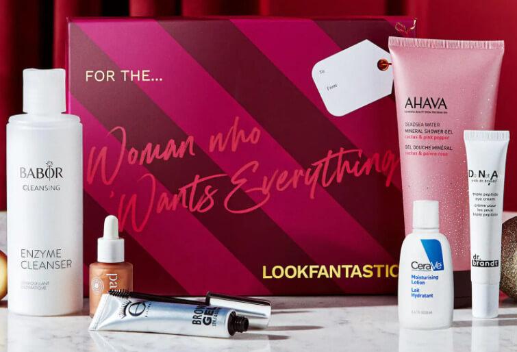 LOOKFANTASTIC Gift Guide - The Woman Beauty Box 2021